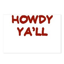 HOWDY YALL Postcards (Package of 8)
