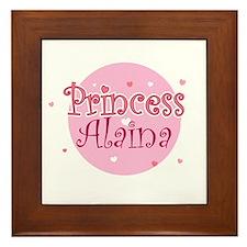 Alaina Framed Tile