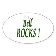 Bell Rocks ! Oval Decal