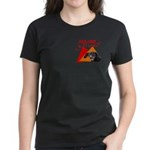Dachshund Trouble Women's Dark T-Shirt