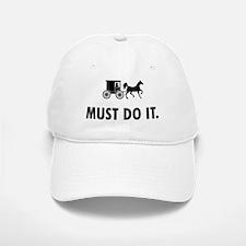 Amish Baseball Baseball Cap