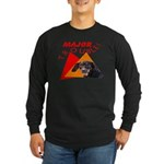 Dachshund Trouble Long Sleeve Dark T-Shirt