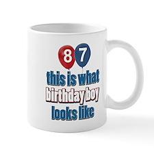 87 year old birthday boy Mug