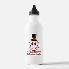 Subvert Dominant Paradigm Water Bottle