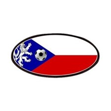 Czech Football Flag Patches