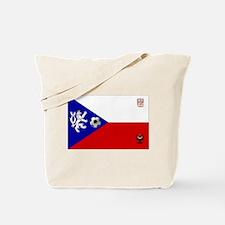 Czech Football Flag Tote Bag