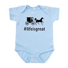 Amish Infant Bodysuit