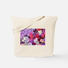 Sweet peas flowers in bloom Tote Bag