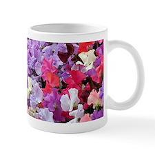 Sweet peas flowers in bloom Mug