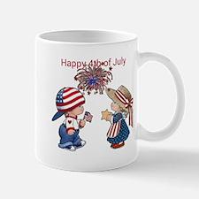 Happy 4th of July Small Small Mug