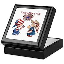 Happy 4th of July Keepsake Box