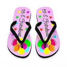 GLAMOROUS 55TH Flip Flops