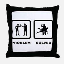 Spanking Throw Pillow