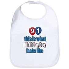 91 year old birthday girl Bib