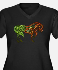 Green Apple-oosa Goddess Proportioned T-Shirt