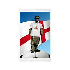 Churchill England Soccer 3'x5' Area Rug