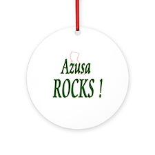 Azusa Rocks ! Ornament (Round)