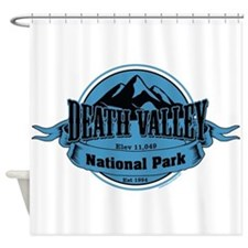 death valley 4 Shower Curtain
