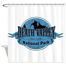 death valley 3 Shower Curtain