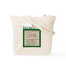 Ferret Dad Tote Bag