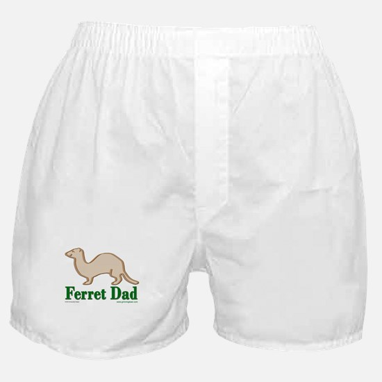 Ferret Dad Boxer Shorts