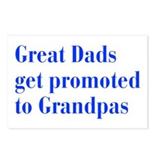 great-dads-bodoni-blue Postcards (Package of 8)