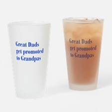 great-dads-bodoni-blue Drinking Glass