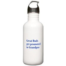 great-dads-bodoni-blue Water Bottle