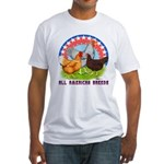 All American Breeds Fitted T-Shirt