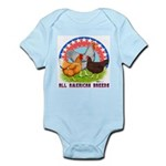 All American Breeds Infant Bodysuit
