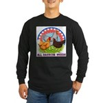 All American Breeds Long Sleeve Dark T-Shirt