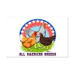 All American Breeds Mini Poster Print