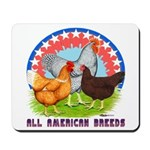 All American Breeds Mousepad
