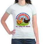 All American Breeds Jr. Ringer T-Shirt