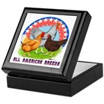 All American Breeds Keepsake Box