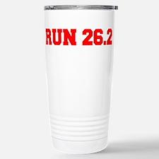 run-26.2-freshman-red Travel Mug