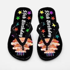 CHIC 55TH Flip Flops