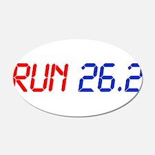run-26.2-lcd Wall Decal