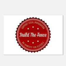 Build The Fence Postcards (Package of 8)
