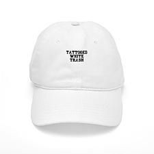 TATTOOED WHITE TRASH Baseball Baseball Cap