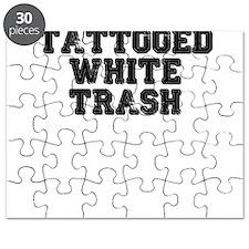 TATTOOED WHITE TRASH Puzzle