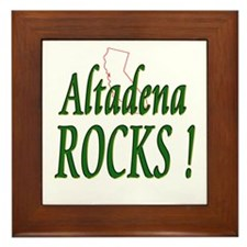 Altadena Rocks ! Framed Tile