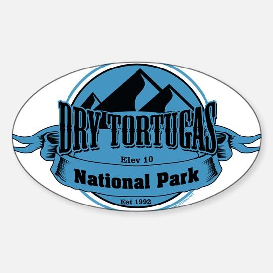 dry tortugas 5 Decal