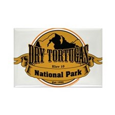 dry tortugas 3 Rectangle Magnet (10 pack)