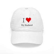 I Love My Husband Baseball Cap
