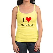 I Love My Husband Jr.Spaghetti Strap