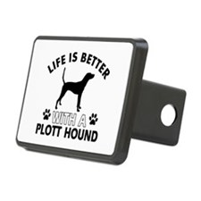Life is better with Plott Hound Hitch Cover