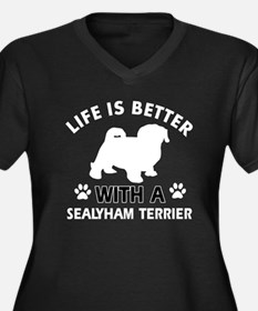 Life is better with Sealyham Terrier Women's Plus
