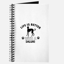 Life is better with Saluki Journal