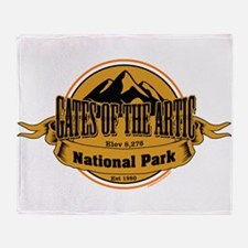 gates of the artic 4 Throw Blanket